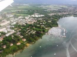 lake Geneva, village