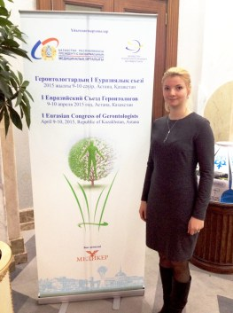 Snejana Skakovskaya  Translator at the Congress