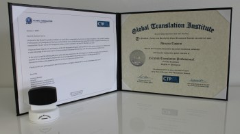 CTP Certificate