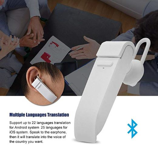 for Learning Traveling Shopping Business Meeting 33 Language Business in-Ear Stereo Earpiece Translators Smart Wireless Bluetooth Headset Translation