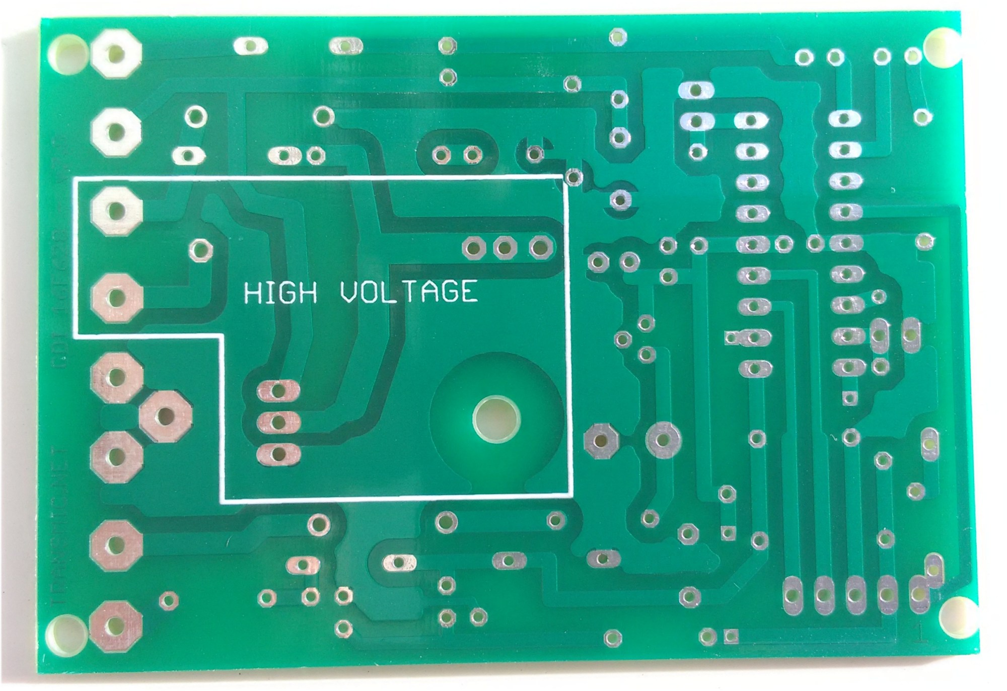 hight resolution of printed circuit board