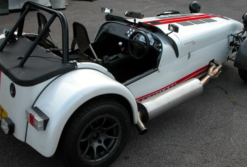 First Drive: Caterham R500 with Launch Control