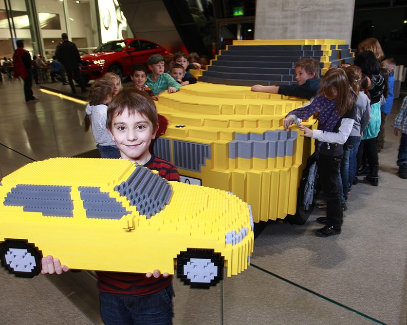 LEGO BMW X1 will take pride of place in BMW Welt