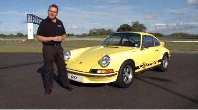 Gordon Robertson, Chief Porsche Driving Consultant