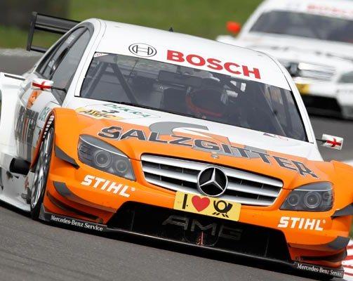 Paffett triumphs over Di Resta in Zandvoort DTM round