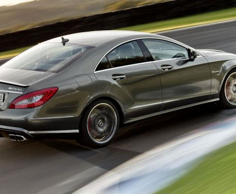 Mercedes unveils a much improved CLS 63 AMG