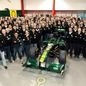Team Lotus unveil their 2011 F1 Challenger - the TL128