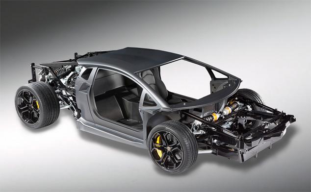 Geneva Watch: Lamborghini's 'lightweight' Aventador LP700-4