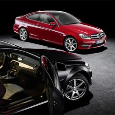 Mercedes reveal the new C-Class Coupé (UPDATED)