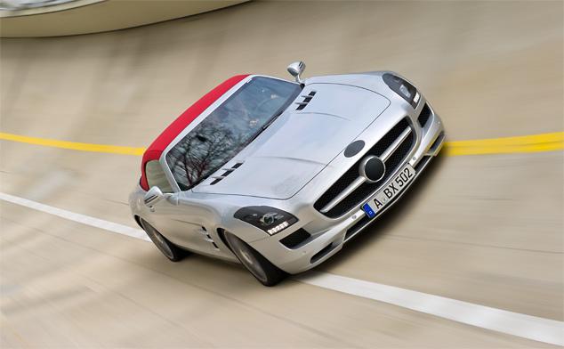 Mercedes-Benz SLS AMG Roadster undergoes final testing