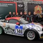 "MINI John Cooper Works Coupé Endurance takes on the ""Green Hell"""