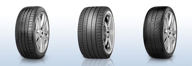 Michelin Pilot Tyres Range