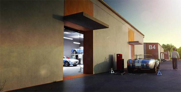 Bilster Berg Driving Resort - Garages