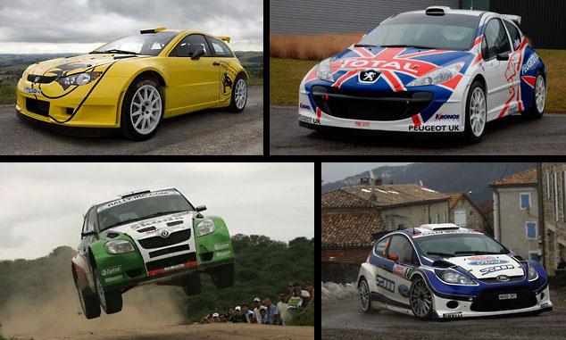 FIA IRC cars