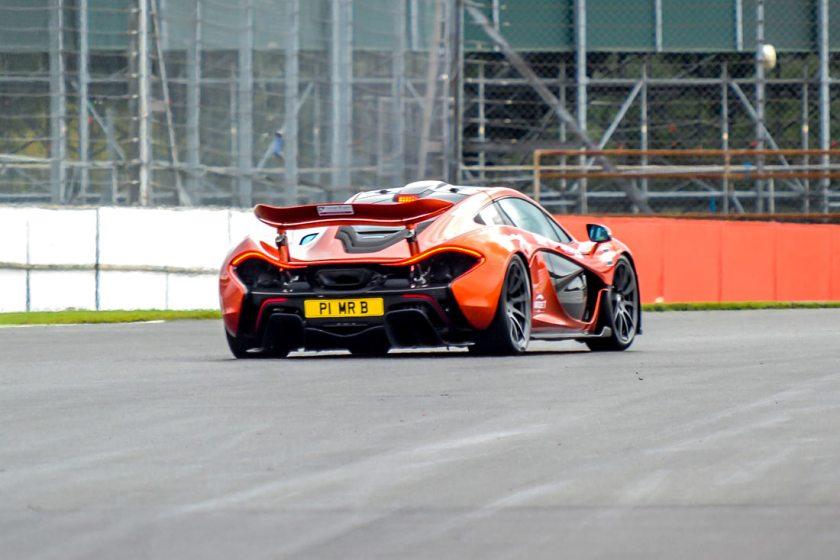 McLaren P1 around Silverstone