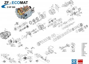 ZF Spare Parts for Trucks and Buses