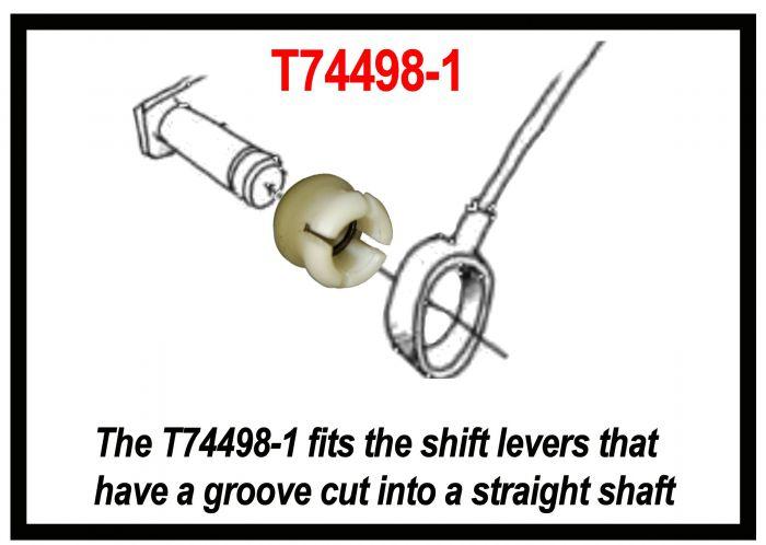 #T77498-1 SHIFT CABLE REPAIR CLIP, 4L60E 4L65E, 4L70E