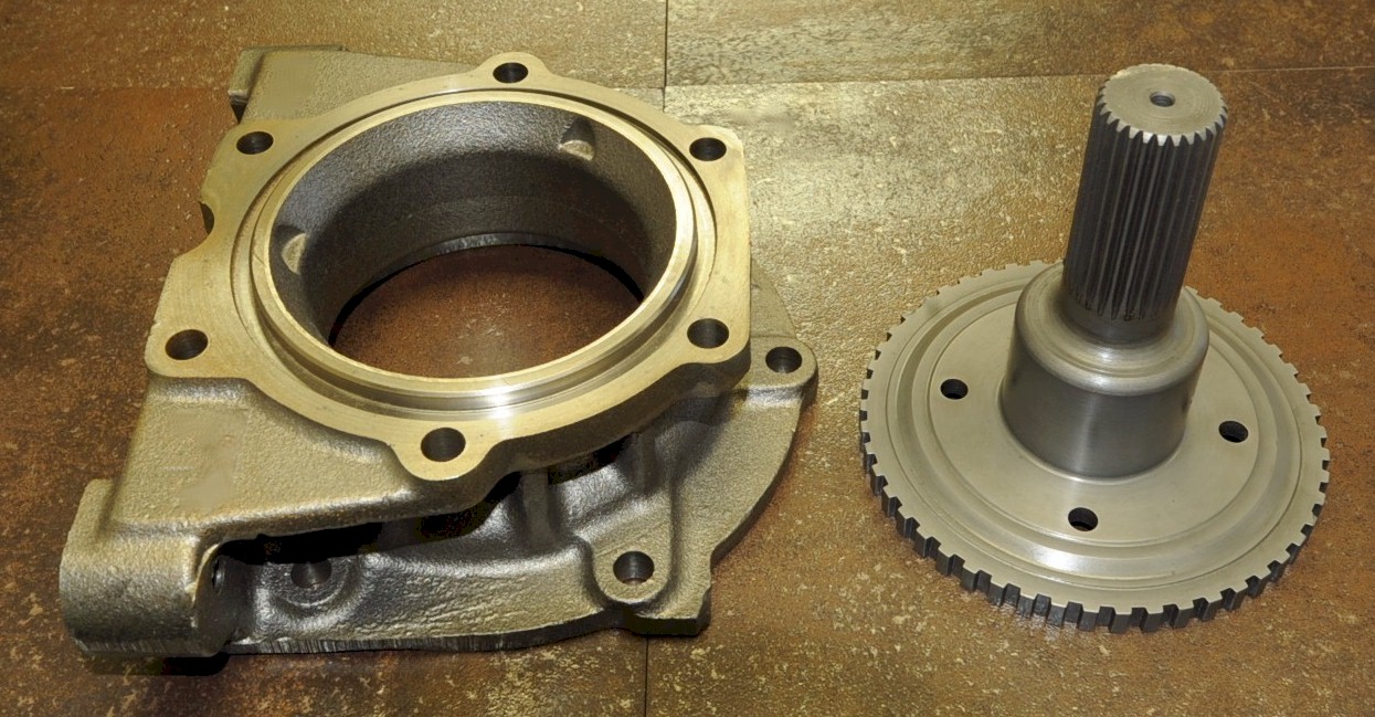 hight resolution of adapter swap your 4l60e transmission to a stronger 4l80e transmission adapter only new cast iron