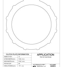 028761x 727 46re 47re 48re flat backing plate 170 foward and direct with snap ring [ 1088 x 1408 Pixel ]