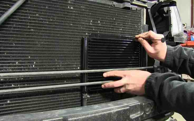 transmission cooler mounting and installation - transmission cooler guide