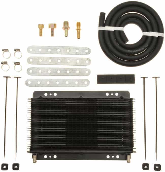 tru cool 4588 transmission cooler with installation kit - Transmission Cooler Guide