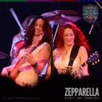 Zepparella live at Slim's