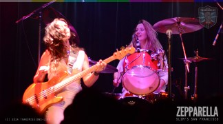Zepparella live at Slim's