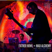 Mad Alchemy Light Show: Photo by Hap Leonard