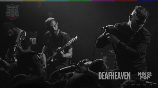 deafheaven live at noise pop