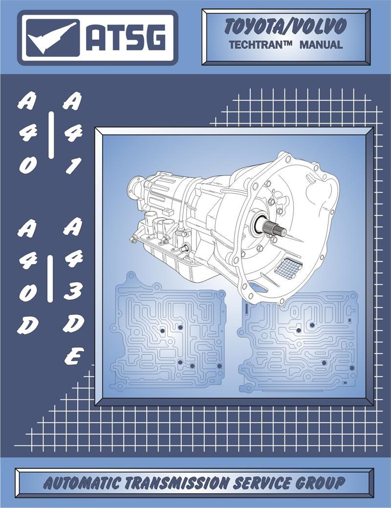 medium resolution of toyota a43d a40 transmission rebuild manual