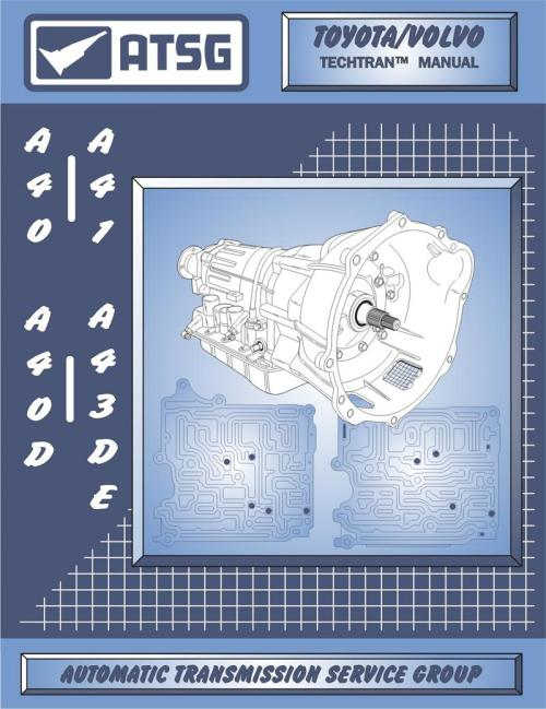 small resolution of toyota a43d a40 transmission rebuild manual