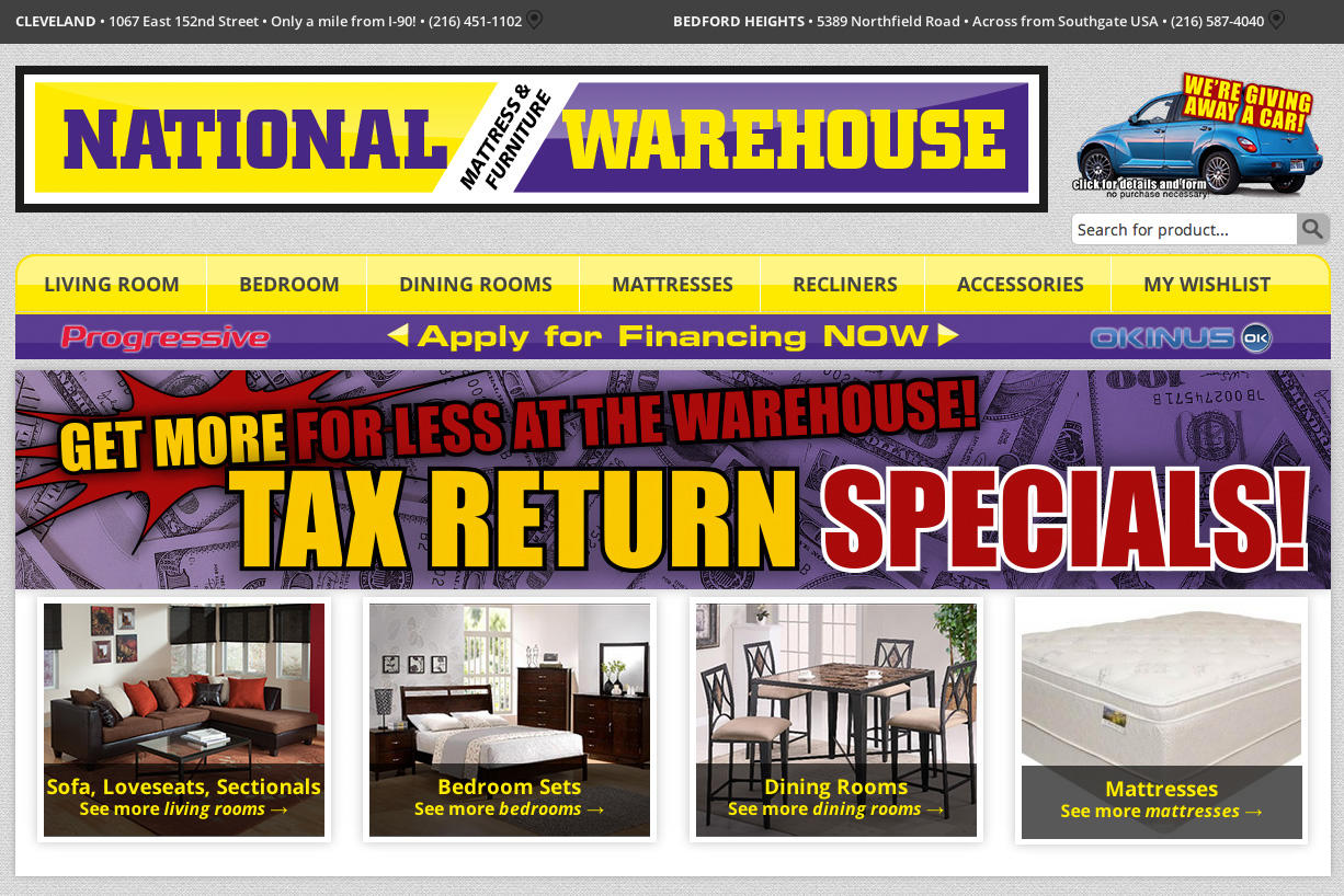 National Warehouse Furniture Store