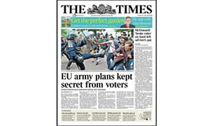 Is there a secret plan to create an EU army?
