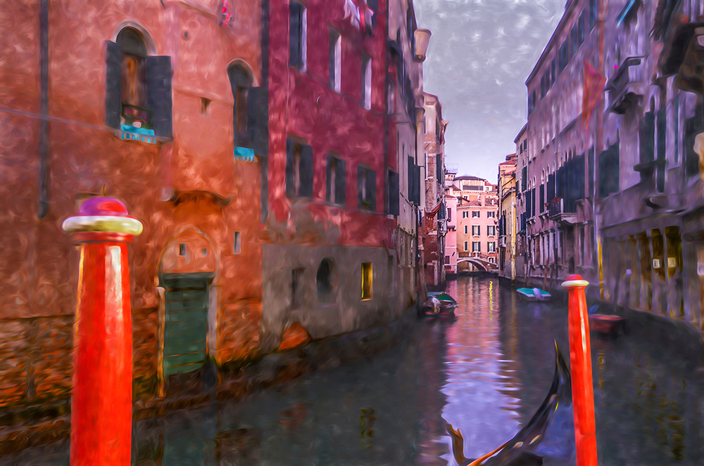 """Venice Red Masts"""