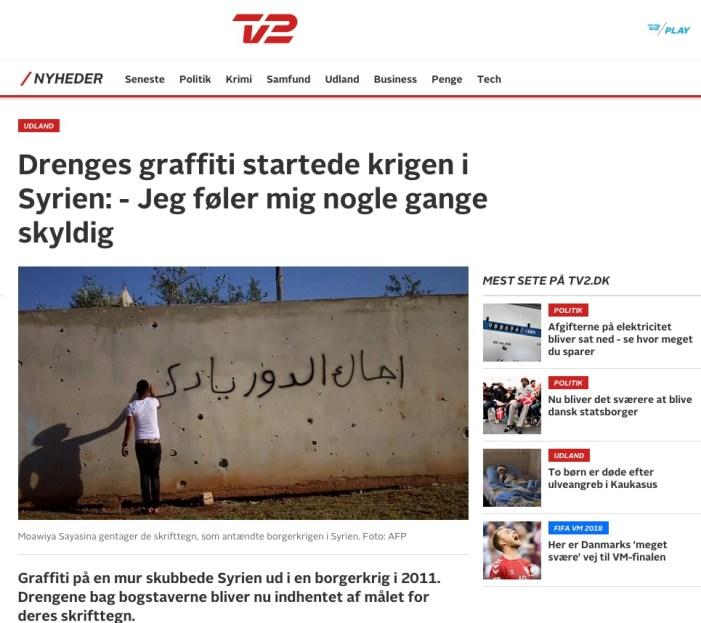 Efter 7 år er TV2s og Politikens behandling af Syrien stadig under al kritik