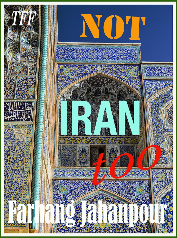 Intro • Regime Change: Not Iran Too!