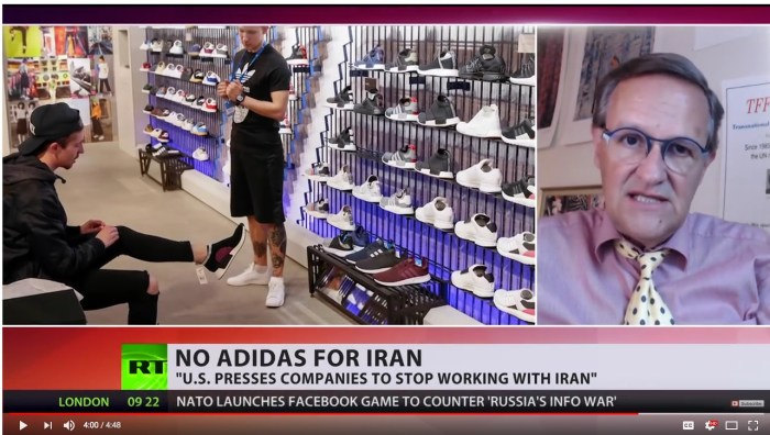 Nike and Adidas stop cooperation with Iran – Boycott them!