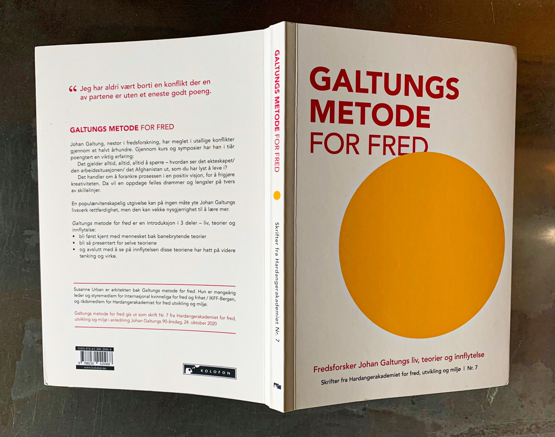 Ny bog om Johan Galtung til 90 års dagen