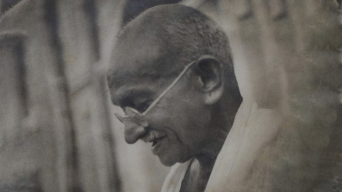 Gandhi's relevance in the time of global crises