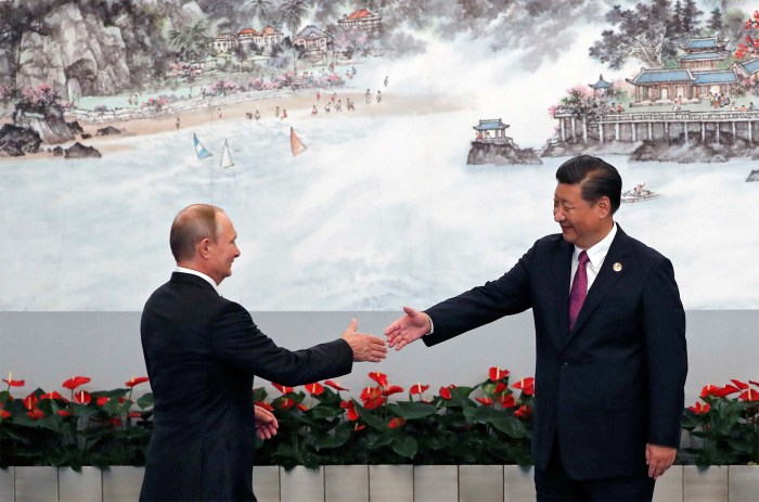 Russia and China tell Biden: The old days are over