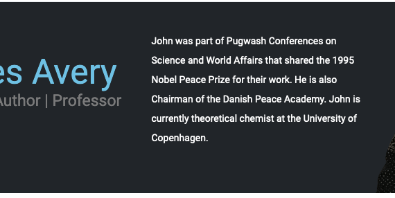 John Avery: Working for peace since 1954