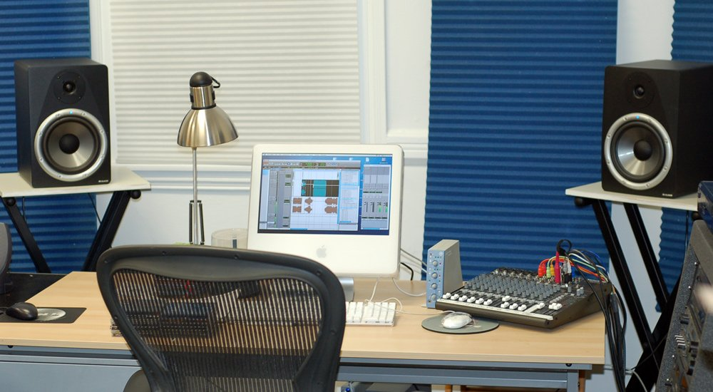 Setting Up a Small Recording Studio UPDATE  Transom