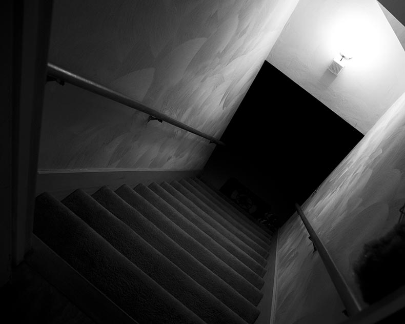 Edit Send It To The Basement Transom | Stairs Down To Basement | Ranch House | Animated | Outside | Creepy | Funny