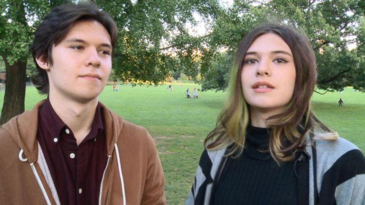 Becoming Nicole - Nicole with her brother Jonas