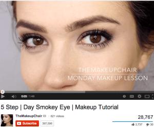 makeup basics from the makeup chair