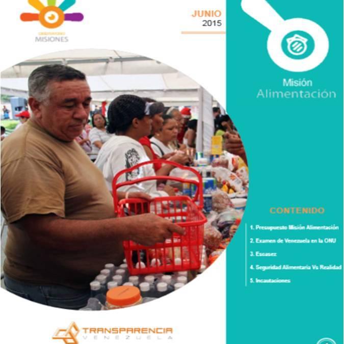 Más de US$ 20 mil millones recibió Misión Alimentación