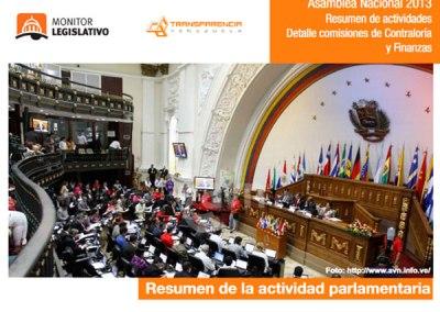 AN cerró el 2013 con sanciones políticas y allanamientos de inmunidad parlamentaria