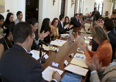 """De Freitas: """"Ley de transparencia es un primer paso para cambiar la forma de hacer Gobierno"""""""