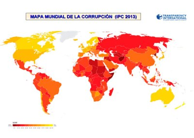 Índice de Percepción de la Corrupción (IPC): 2013