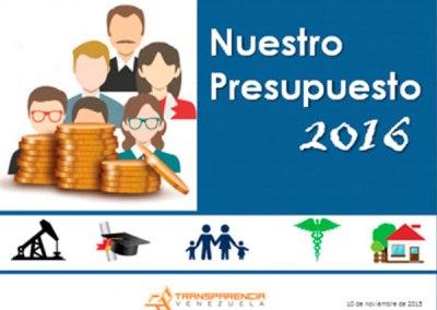 Nuestro Presupuesto 2016